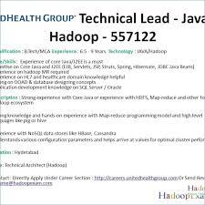 Hadoop Admin Resume Getmytune Com
