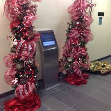 the office ornaments. The Theme For South End Of Building Was \u201cA Winter Wonderland\u201d. I Able To Secure Beautiful Snowy White Ornaments And Picks At Nutcracker Office