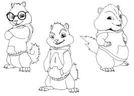 alvin and the chipmunks coloring pages chipmunk coloring pages coloring pages and the chipmunks coloring pages