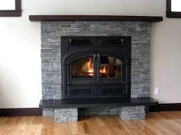 fireplace stone veneer stone veneer panels over brick fireplace