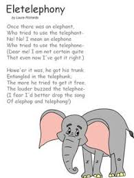 i recited this once when i was little in something we did at we