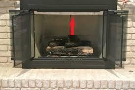 pleasant hearth ashlyn small glass fireplace doors ah 1200