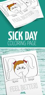 Download This Free Printable Sick Day