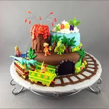 Dinosaur Train Cake Made By Deneen Dinosaur Train Cakes