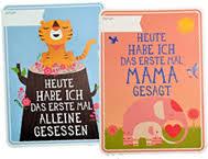 Originell Milestone Cards Hippe Kinder