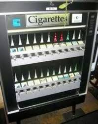 Cigarette Vending Machine Locations Inspiration Wow And They Were In Places Like Laundry Mats Nostalgia