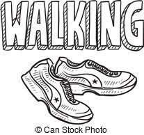 Image result for walking clipart