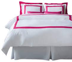 lacozi hot pink duvet cover set queen