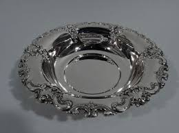 wallace sterling silver serving bowl in