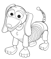 Small Picture Toy story coloring pages slinky dog ColoringStar