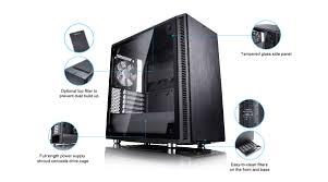 Fractal Design Define Mini C Amazon Fractal Design Announces The Define C Tg Define Mini C Tg