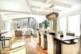 rectangular dining room chandeliers modern