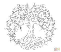 Printable Celtic Designs Coloring Pages
