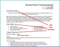 Resume Heading Samples Resume Template Resume Examples Great Resume  Objective Examples Great Resume Regarding Examples Of