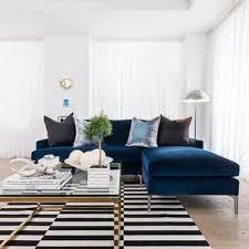 blue velvet sectional. Unique Sectional Blue Velvet Sectional Sofa Luxury Navy And