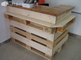 Ideas of Pallet Furnitures for a Store DIY Pallet FurniturePallet Store,  Bar & Restaurant Decorations