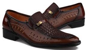 mens dress sandals leather