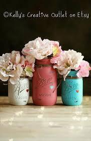 Table Decorations Using Mason Jars Diy Projects Using Mason Jars Mason Jar Designs Small Mason Jars 87