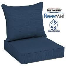patio furniture cushions at com sunbrella chair clearance allen roth neverwet piece deep seat