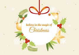 Free Holiday Greeting Card Templates Free Flat Design Vector Holiday Greeting Card Download Free Vector