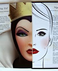 elf evil queen face make up set disney villain book devious eyes steps