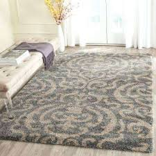 best of plush area rug and gray beige 9 ft x ft area rug 33