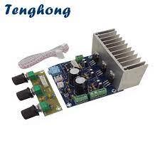 Tenghong TDA2030A Power Verstärker Bord 20W * 2 + 30W 2,1 Subwoofer Audio  Sound Verstärker Bücherregal Lautsprecher AMP mit Preamp Bord|Amplifier