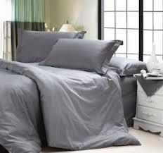 dark grey bedding. DIAIDI, Solid Dark Grey Bedding Sets, Luxury Comforter Set, Hotel Queen King Size, 4Pcs (queen) E