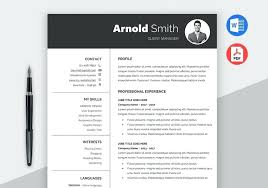Microsoft Office 2010 Resume Templates Download Ms Word Resume Template