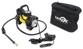 Купить Автомобильный <b>компрессор Качок K90 LED</b> желтый по ...