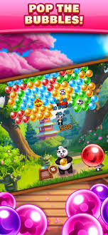 bubble shooter game on the app