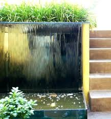 outdoor lighted water fountains lighted outdoor wall water fountains