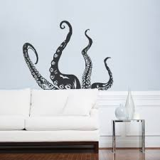 octopus tentacles wall art decal on wall art stickers bathroom with wall decals for bathroom bathroom wall art stickers