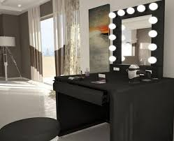 desk mirror with lights. Brilliant With Vanity Desk With Mirror And Lights Home Design Plan Within Idea 5 In N