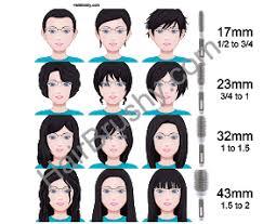 Hairbrushy Com Round Brush Size Chart