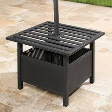 outdoor umbrella holder. Umbrella Stand Side Table Outdoor Holder O