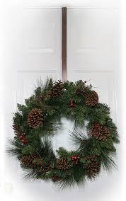 front door wreath hangerAmazoncom Haute Decor Adjustable Length Wreath Hanger 20 lb