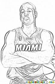 Small Picture Get This Easy NBA Coloring Pages for Preschoolers 8PS18
