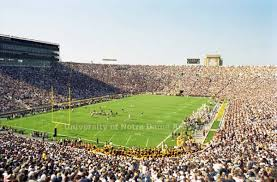 Notre Dame Stadium Rededication Moments 125 Football