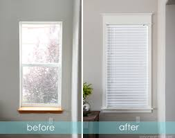 How To Frame A Window Tutorials  Tips For DIY Window Casings Blinds For Windows Without Sills