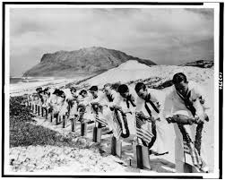 seamen at kaneohe naval air station decorate the graves of their seamen at kaneohe naval air station decorate the graves of their fellow sailors killed at pearl harbor 7 1941 official u s navy photograph