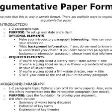 sample outline for argumentative essay dae d aa a b e f c cover letter college level essay format how to write an argument essay argumentative essa format