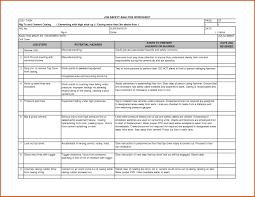 Job Hazard Analysis Worksheet 12 Job Safety Analysis Examples Pdf Word Pages Examples