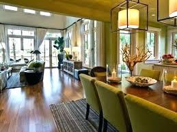 Living Room Dining Room Furniture Arrangement Design