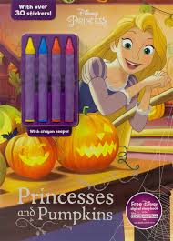We have collected 37+ disney halloween coloring page printable images of various designs for you to color. Disney Princess Princesses And Pumpkins Color Activity With Crayons Parragon Books Ltd 9781474854900 Amazon Com Books