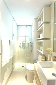narrow bathroom ideas layout designs small long master decorating cupcakes with tub and shower