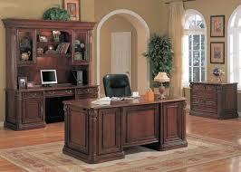 modular solid oak home office furniture. Lovable Solid Wood Home Office Furniture Traditional Executive Decor Desk Cherry Modular Oak O