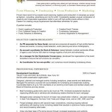 Event Planner Free Resume Samples Blue Sky Resumes With Regard
