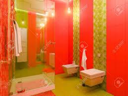 3d Darstellung Eines Bad Inter Design Für Kinder Render Badezimmer