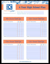 4 Year College Plan Template 20 4 Year College Plan Template Simple Template Design